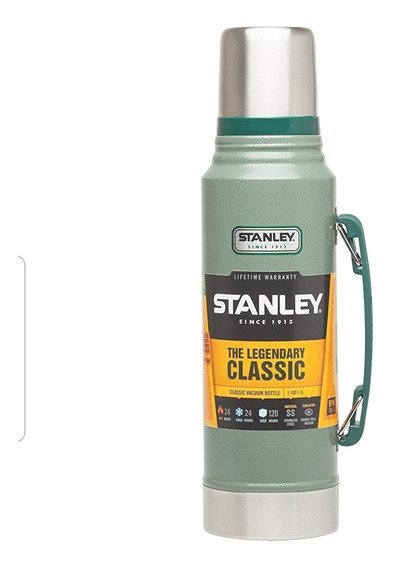 Termo Stanley , Classic, 1litro , Color Verde, Original