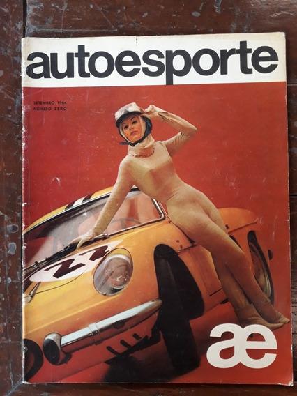 Revista Auto Esporte Edição Zero 1964