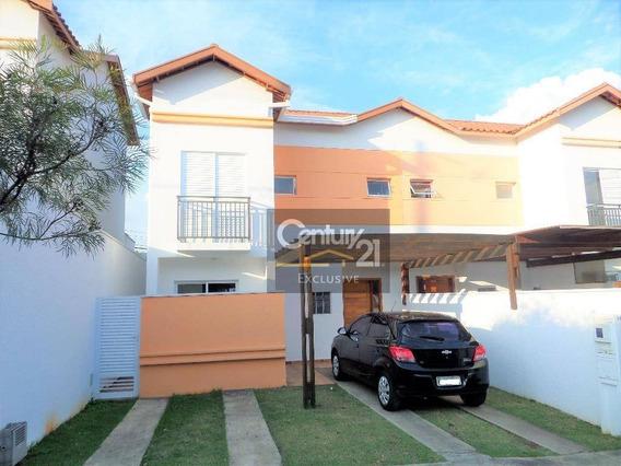Casa Residencial À Venda, Jardim Bela Vista, Indaiatuba. - Ca0279