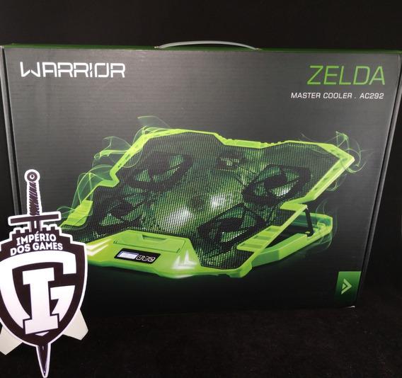 Master Cooler Gamer Verde Com Led Warrior - Ac292 - Zelda
