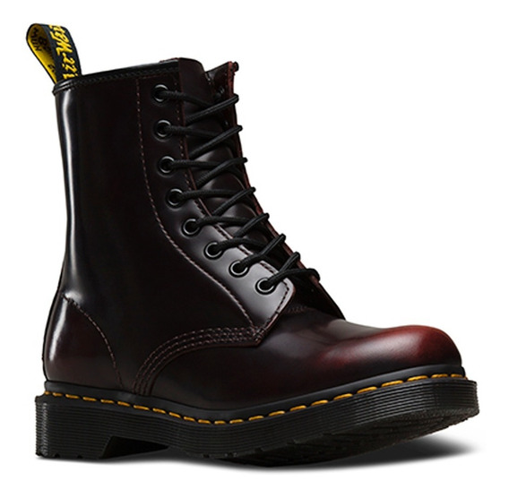 Bota Mujer 1460w Cherry Red Arcadia Dr. Martens