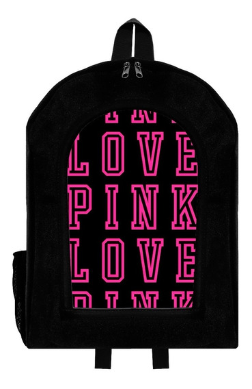 Mochila Urbana Reforzada Love Pink 6 Givan