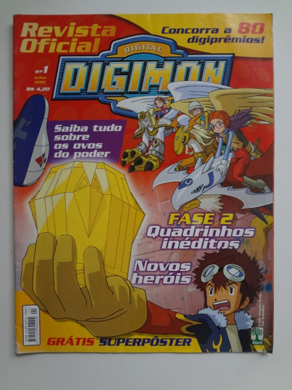 Revista Oficial Digimon Nº 1 Fase 2