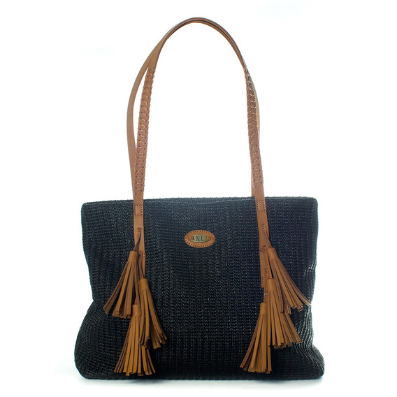 Tote Mujer Xl Extra Large Andrea Negro