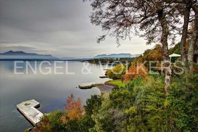 Propiedad En Lago Villarrica, Con Orilla