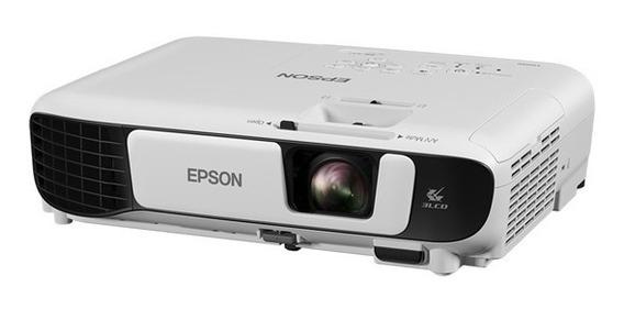 Projetor Epson Powerlite X41+ 3.600 Lumens Wi-fi - Bivolt