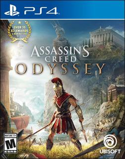 Assassins Creed Odyssey Ps4, Disco, Nuevo Y Sellado