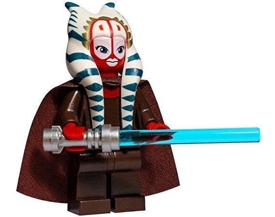 Lego Star Wars Clone Wars Minifigure - Shaak Ti Con El Sable