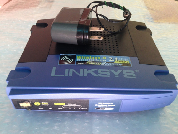 Router Inalámbrico Wireless-g Linksys Wrt54gs 802.11b