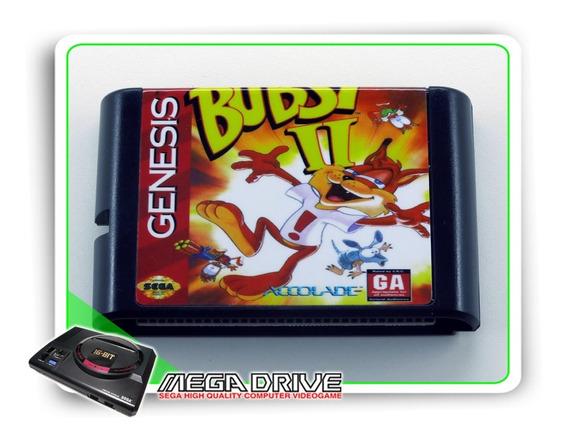 Bubsy 2 Sega Mega Drive / Genesis - Novo