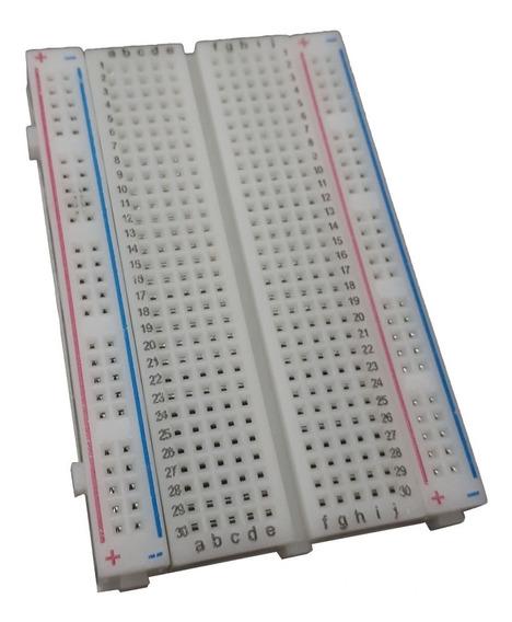 Protoboard Breadboard 400 Pontos Furos - 0366