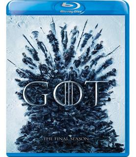 Game Of Thrones - Temporada 8 Bluray - Juegos De Tronos