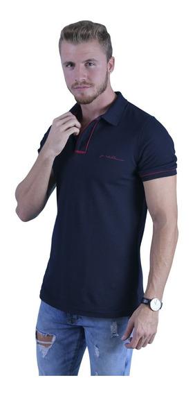Kit De Camisas Tipo Polo Porto Blanco Hombre Y Mujer De-825