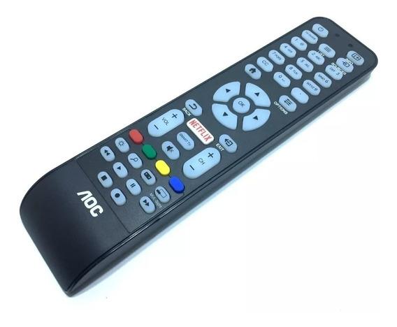 Controle Remoto Tv Aoc Led Smart Botão Netflix 100% Original