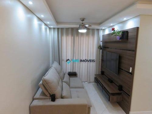 Apartamento Com 2 Dormitórios À Venda, 52 M² Por R$ 361.000,00 - Jardim Paulicéia - Campinas/sp - Ap1703