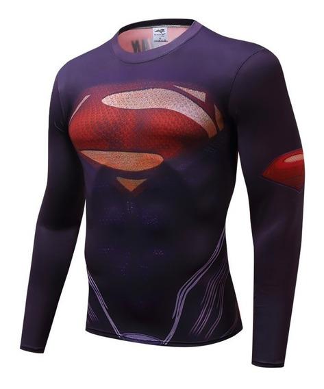 Dc Comics - Batman Superman Flash Playera Gym