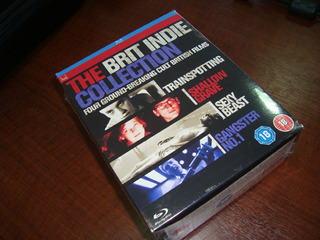 Blu-ray Box The Brit Indie Collection / 4 Filmes / Uk