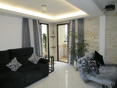 Cobertura Com 3 Dormitórios À Venda, 196 M² Por R$ 1.050.000,00 - Vila Guarani (zona Sul) - São Paulo/sp - Co0047