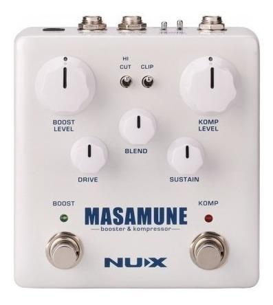 Pedal Nux Massamune Booster Nbk5 Full