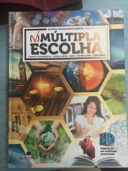 Livro Múltipla Escolhaprincipais Conteúdos Do Ensino Médio!