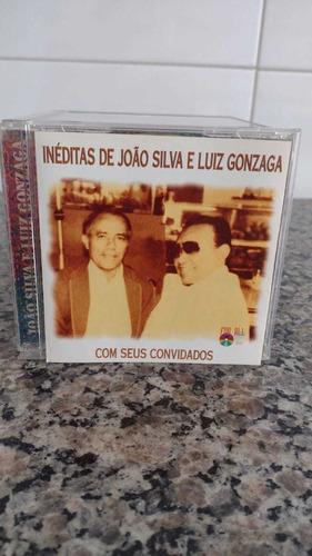Cd Inéditas De João Silva E Luiz Gonzaga E Seus Convidados