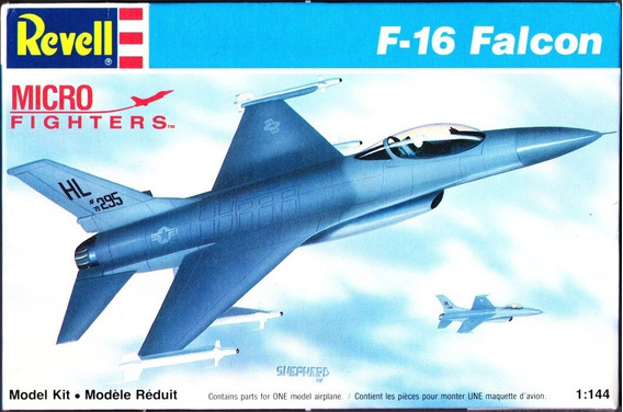 Revell 4061 Maqueta Plástica Para Armar 1/144 F16 Falcón
