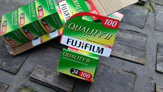 2 Rollo Fuji Film 35mm 24 Vencido 2010 Probados (7280)