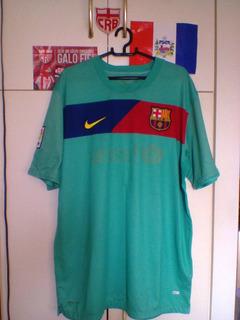 Camisa Barcelona Nike 2010/11 David Villa.