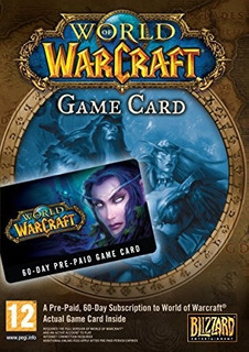 World Warcraft Game Card Pc