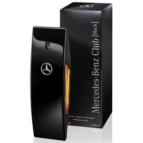 Perfume Mercedes Benz Club Black Masculino Edt 100ml Lacrado