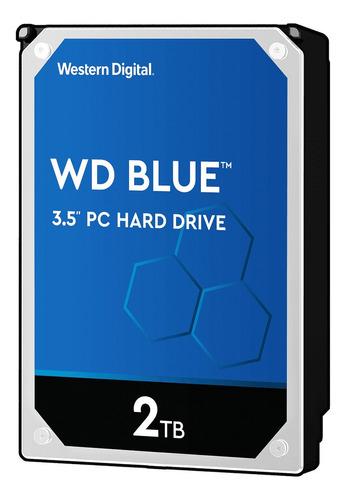 Disco duro interno Western Digital  WD20EZAZ 2TB azul