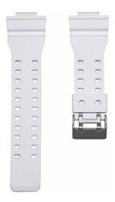 Pulseira Casio Ga100 Ga110 Gd100 Branco G-shock