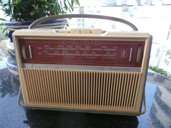 Radio Antigo Franklin Om-oci 4 Faixas - Assiste Video