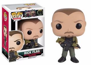 Funko Pop! Heroes 099 - Suicide Squad: Rick Flagg - Nuevo