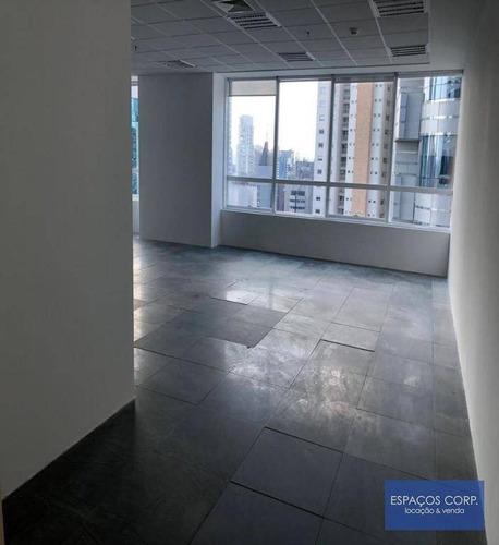 Laje Corporativa Para Alugar, 1044m² - Brooklin - São Paulo/sp - Lj0713
