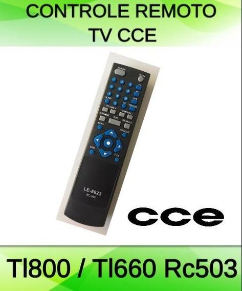 Controle Remoto Tv Cce Lcd Led Tl800 / Tl660 Rc503