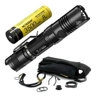 Lanterna Tática Militar Nitecore P12gt 1000lm Polícia 320m