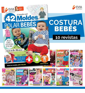 Bebés Costura -básicos Infaltables- (9 Revistas)