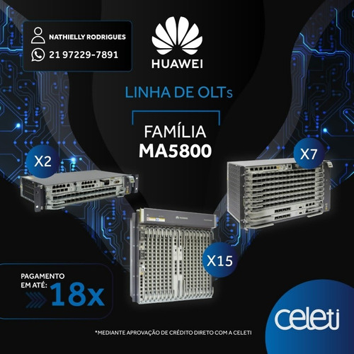 Imagem 1 de 3 de Configuração Geral De Olt Huawei