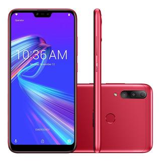 Smartphone Asus Zenfone Max Shot 64gb Cam. Tripla Vermelho