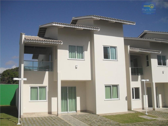 Sobrado Residencial À Venda, Sapiranga, Fortaleza. - Codigo: Ca0104 - Ca0104