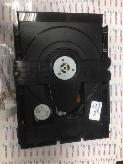 Mecanismo Com Leitor Óptico Dvd Philips Dvp3980kx/78 Testado