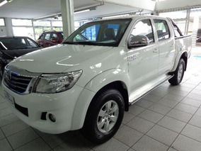 Toyota Hilux Cd 4x2 Srv 2015 Branca Flex