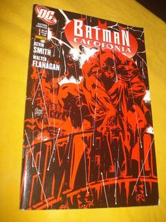 Batman Combo 2 Hq Cacofonia Guerra Secessão