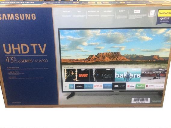 Samsung Smart Tv Uhd 4k - 43 Pulgadas - Serie Nu6900 Flat