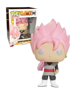 Funko Pop Dragon Ball Super - Super Saiyan Rose #260 - Nuevo