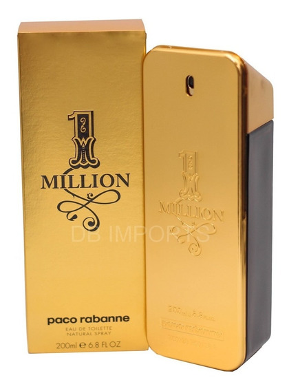 Perfume One Million Edt 200ml Importado Usa Original