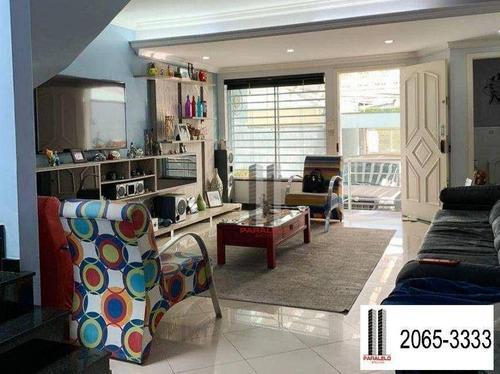 Imagem 1 de 30 de Sobrado Com 3 Dormitórios À Venda, 180 M² Por R$ 1.500.000,00 - Mooca - São Paulo/sp - So1593