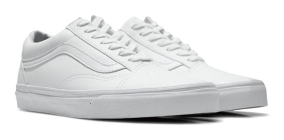 Old Skool Classic Tumble True White
