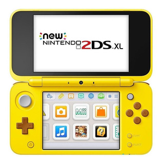 Nintendo New 2DS XL Pikachu Edition amarelo